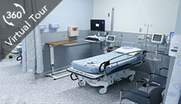 Click here to see 360• tour of pre/post operating room